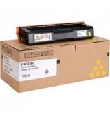 Оригинална тонер касета RICOH Yellow SPC310HE, 407635