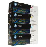 HP - Oригинална тонер касета  CE410A/305A