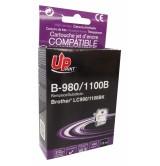 Brother Съвместима факс касета LC980/1100 BK