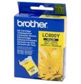 Brother Оригинална  Касета за мастилоструйни устройства  LC800Y