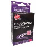 Brother Съвместима факс касета LC970/1000 M