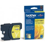 BROTHER - Оригинална мастилница  Brother LC 1100Y