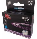 Съвместима мастилница Brother LC980C /LC1100