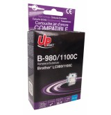 Brother Съвместима факс касетаLC980/1100 C