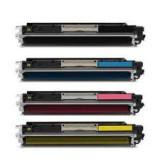 HP - Съвместима тонер касета CE312A/126A