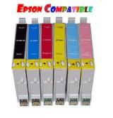 EPSON - Съвместима мастилница Black Epson Т0801