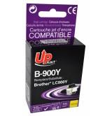 Brother Съвместима Факс касета LC900 Y