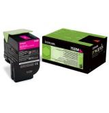 Lexmark оригинална  тонер касета   70C20M0