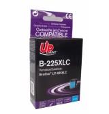 BROTHER съвместима мастилница - LC225 XL CYAN