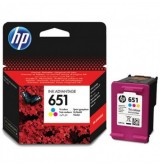 HP Оригинална мастилница C2P11AE / 651 Tri-colour