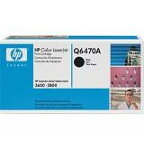 HP - Оригинална тонер касета Q6470A