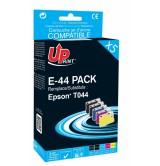 Комплект мастилници EPSON Stylus C64/C84-Т044 (2BK+C+M+Y)