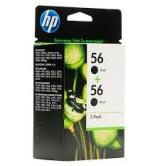 HP - Оригинална мастилница C9502AE / 2 x No56